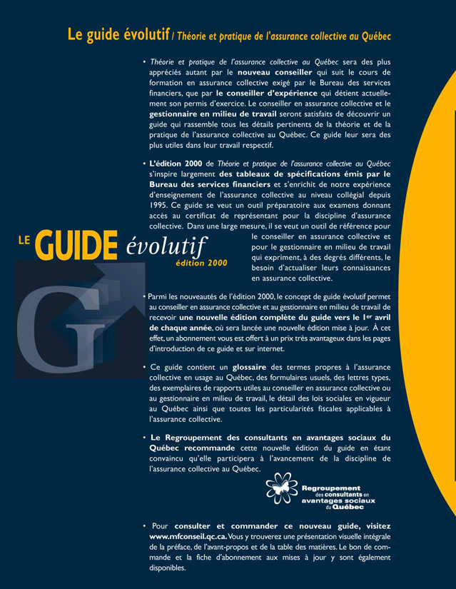 Miniguide de l'assurance et des rentes collectives 2012 (version Internet)